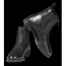 Ботинки кожанные c молнией
