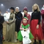 Состоялся Новогодний праздник 2018 на КСК Тамерлан.