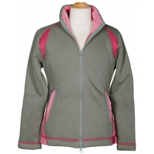 Толстовка -куртка на флисе LouLou